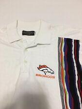 Rare VTG 90s Tundra John Elway Denver Broncos Polo Shirt Small Coogi Sweater 80s