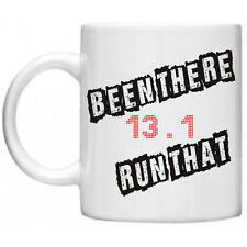 Marathon Novelty Mug 13.1 Been There Run That Running Gift