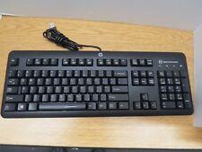 HP KUS1206 SmartCard USB CCID Wired Keyboard 700847-001