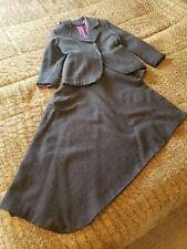 Sidesaddle Habit charcoal grey melton wool size 38/39 bust