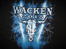 Wacken 2015 Event T-Shirt NEU XL Judas Priest Sabaton Savatage Dream Theater oi