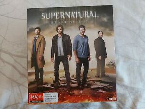 supernatural box set season 1-12