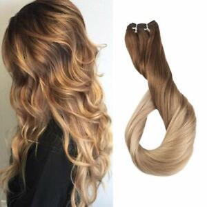 Full Shine Remy Straight Weave Hair Bundles 100g Sew in Hair Weft Human Hair