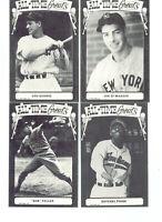 TCMA Hall of Fame Series Baseball All Time Greats Vintage Baseball Post Cards 48