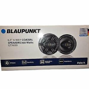 "Blaupunkt GTX650 360 W Max 6.5"" 4-Way 4 Ohm Stereo Car Audio Coaxial Speakers"