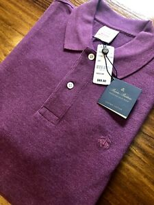 NEW Brooks Brothers Orig Fit Performance Polo Men's Medium 100% Supima Cotton