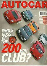 Autocar 29th June 2004, 200mph, Mini Convertible, 350Z, Smart, Skoda Octavia