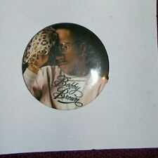 Bobby Brown  button large 40mm Badge  pop used condition music