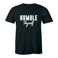Humble Thyself Short Sleeve T-Shirt for Men