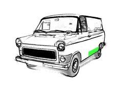 Reparaturblech - Randstreifen links für Ford Transit MK I + II