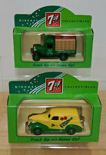 LLEDO COLLECTION OF 2 x 7 UP Diecast Collectable MODELS