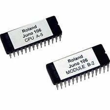 Roland Juno 106 firmware OS upgrade EPROM version CPU A5, Module B2