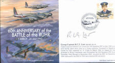 MF5d WWII WW2 DH Mosquito PFF RAF cover signed LAW DSO DFC CO 109 Squadron