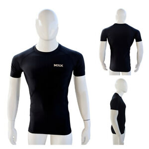 Mens Compression Quick Dry Thermal Base Layer Gym Slim Tight Running Shirts