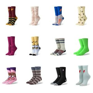 1 Pack Stance Mens Crew Cotton Socks Size size M L 6-12 Combined postage