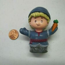 New Fisher Price Little People FROZEN BLONDE KRISTOFF ANNA'S BOYFRIEND Disney