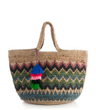 Shiraleah DANIELLA Bohemian Jute Tote Handbag Purse Bag Shopping Bag Tribal