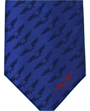RAF Royal Air Force Emblem Pilot Plane Aeroplane Blue / Red Neck Tie Men Women