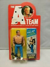 1983 The A-Team John Hannibal Smith Action Figure New Moc Sealed Vintage Galoob