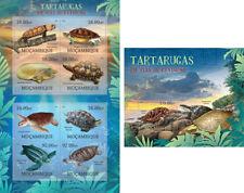 Extinct Tortugas Schildkröten Reptiles Animales Fauna Mozambique MNH