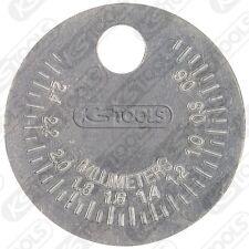 KS-Tools Zündkerzen-Einstell-Werkzeug, Lehre 0,5-2,5mm (500.7515)