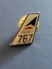 Delta Project 767 Tailfin Pin