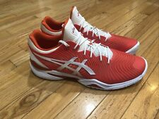 ASICS Court FF 2 Novak  Casual Other Sport  Shoes Red Mens - Size 14 Rare Tennks