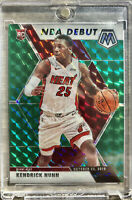 2019-20 Panini Prizm Mosaic Kendrick Nunn Rookie Card RC Green Debut Miami Heat