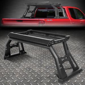 FOR 09-18 DODGE RAM 1500 2500 3500 OFFROAD TRUCK ROLL BAR W/ STORAGE CARGO BOX