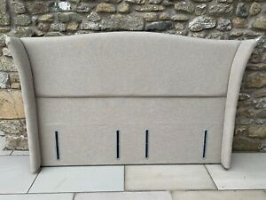 Winged Belgravia Headboard for Superking bed or 2 single divans. Price new £649