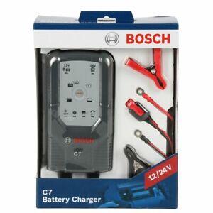 BOSCH 018999907M Mikroprozessor-Batterieladegerät C7 12V-24V Automatik 120Ah