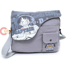 One Piece Messenger Bag Luffy Canvas Body Cross Anime Bag Cosplay Bag