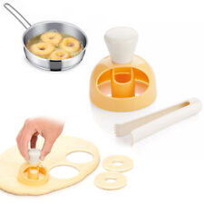 Hot Donut Maker Cutter Mold Fondant Cake Bread Desserts Bakery Mould Tool DIY