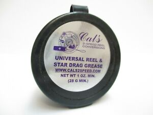 Cal's Universal Reel and Star Drag Grease - Multi Use - (1) Light-Purple 1oz