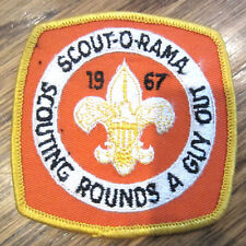 Vintage Boy Scout Patch Scout Bsa Scout O Rama Scouting Rounds A Guy Out 1967