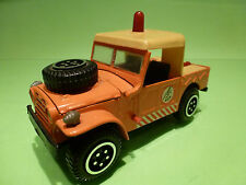 BARLUX FIAT CAMPAGNOLA - BREAKDOWN TRUCK SOS  -  ORANGE 1:25 - GOOD CONDITION