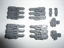 Warhammer 40k Space Marine Land Raider Hurricane Bolters New and Unbuilt Bits