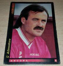 CARD GOLD 1993 ANCONA GUERINI CALCIO FOOTBALL SOCCER ALBUM