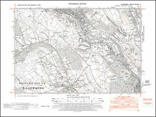 Mountain Ash S, Abercynon NW, Ynys-bwl, old map Glamorgan 1948: 19SW repro Wales