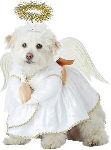 Angel Dog Costume - MEDIUM - Heavenly Pup - Shirt, Wings, Halo - Christmas - NWT