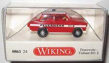 Wiking 086124 Trabant 601 S Limousine Feuerwehr 1:87 HO