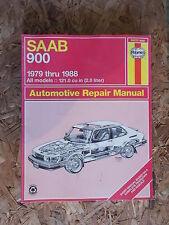 Haynes 84010 (980) 1979-88 Saab 900 Repair Manual Guide Book *FREE SHIPPING*