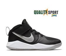 Nike Team Hustle D 9 Nero Scarpe Shoes Bambino Sneakers Basket AQ4225 001 2020