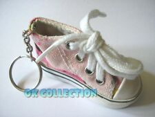 Portachiavi in Stoffa e Pvc / Vintage anni '80 SCARPA TENNIS (old keyring shoes)