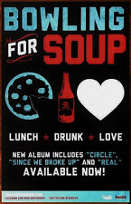 BOWLING FOR SOUP Lunch Drunk Love Ltd Ed RARE Poster +FREE Rock Punk Pop Poster!