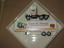 WINROSS 1/64 KODAK FILM CATCH THE MOMENT TRACTOR AND  TRAILER *
