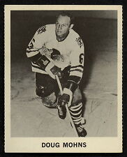 1965 COCA-COLA COKE DOUG MOHNS EX-NM CHICAGO BLACK HAWKS HOCKEY CARD FREE SHIP