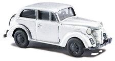 Busch H0, 41105 Opel Olympia in Wintertarnung, Fahrzeug Modell 1:87