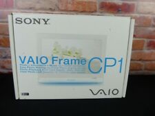 "Sony VAIO VGF-CP1 Digital Photo Frame 7"" Display Wi-Fi"