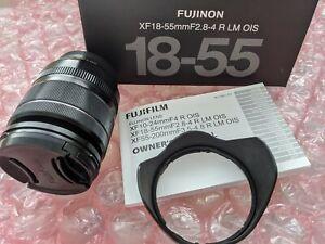 FUJIFILM FUJINON XF 18-55mm f/2.8-4.0 LM R OIS Lens. Mint condition.